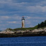 A lighthouse commisioned by Thomas Jefferson