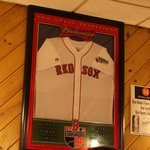 Obviously a great pizza place for Red Sox fans!
