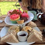 Lovely afternoon tea!