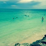 Beautiful beach at Memories