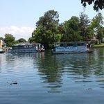 tour boats in my backyard