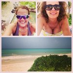 Bike path to the cenote, relaxing at Punta Bonita, our amazing view