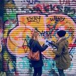 Graffiti painting on the Dublin Craic Tour