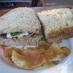 Delicious Roast Beef Sandwich