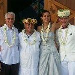 Mariage de Vehavere et Raihau avec Rosina et Samuel