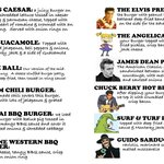 thought  they had a COOL burger menu