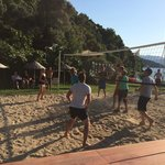 Staff Vs Guests Volleyball