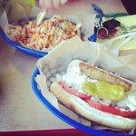 Greek dog and the firecracker fries