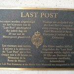 Last Post information