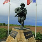 Memorial to Dick Winters of Easy Company