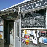 The entry way for Bullock's Bistro