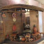 petit salon de café traditionnel