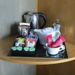 Amazing selection of room refreshments