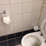 1980s tiles, broken loo roll holder - period bathroom?