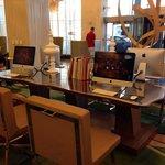 iMacs in lobby
