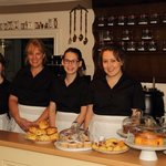 Part of The WInding House Tea Rooms Brilliant Team of staff