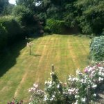 its a garden, full stop