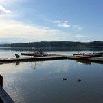 Property's boat docks