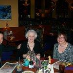 Chris, Mom, and me