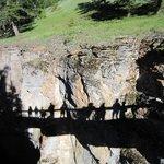 Shadows at Maligne Canyon