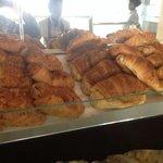 Croissant at la galette