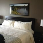 Very comfy bed, Canad Inns Destination Centre Health Sciences Centre  |  720 William Avenue, Win