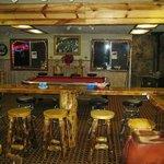 Inside restaurant/bar
