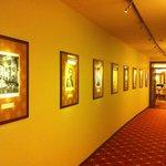 Иллюстрации из царской России на стенах