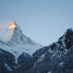 Matterhorn view from our balcony