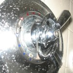 Shower water ring is loose