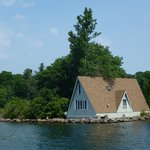One of the many island homes we saw