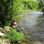 Cooling off - Swift River by Remick Farm