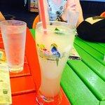 Drinks at Margaritaville