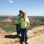 Scenic view of Palo Duro Canyon