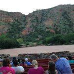 View of the stage at Texas Outdoor Musical