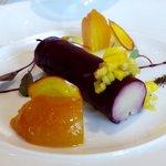 Foie gras at Petrus