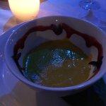Mmm. Carrot soup.