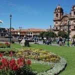 Beautiful landscape around Plaza de Armas.