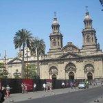 Metropolitan Cathedral, Plaza de Armas