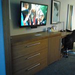 TV, Drawer and Desk