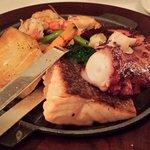 Degustação de frutos do mar