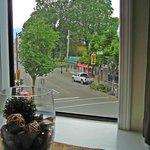 Main & Wellington corner room view