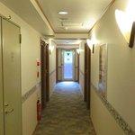 Toyoko Inn - Tameike Sanno corridor on 5th floor
