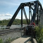 River crossing just outside of Talkeetna