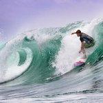 Amazing water, amazing surf