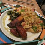 meal with plantain