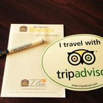 I travel with tripadvisor!