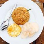 Salah satu menu breakfast - One of the breakfast menu.