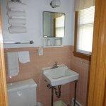 The bathroom - retro tile!