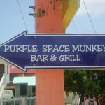 This way to the Purple Space Monkey!